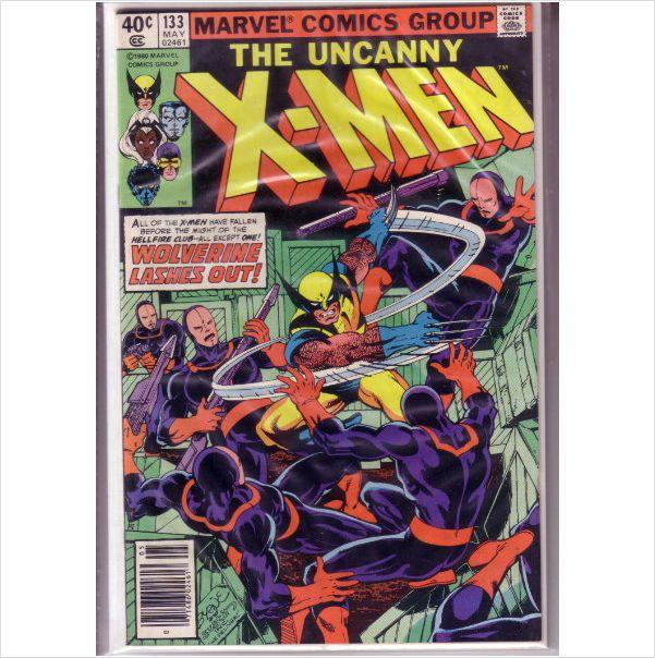 Marvel Comics The Uncanny X-men #133 May 1980 on eBid United Kingdom