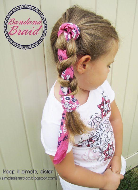Incredible 1000 Images About Little Girl Hair Ideas On Pinterest Short Hairstyles For Black Women Fulllsitofus