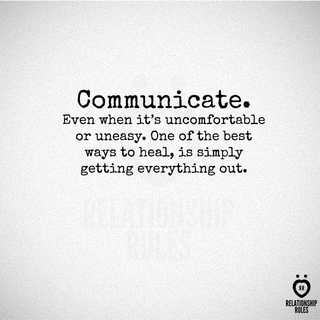 keep it simple and short for good communication in a relationship