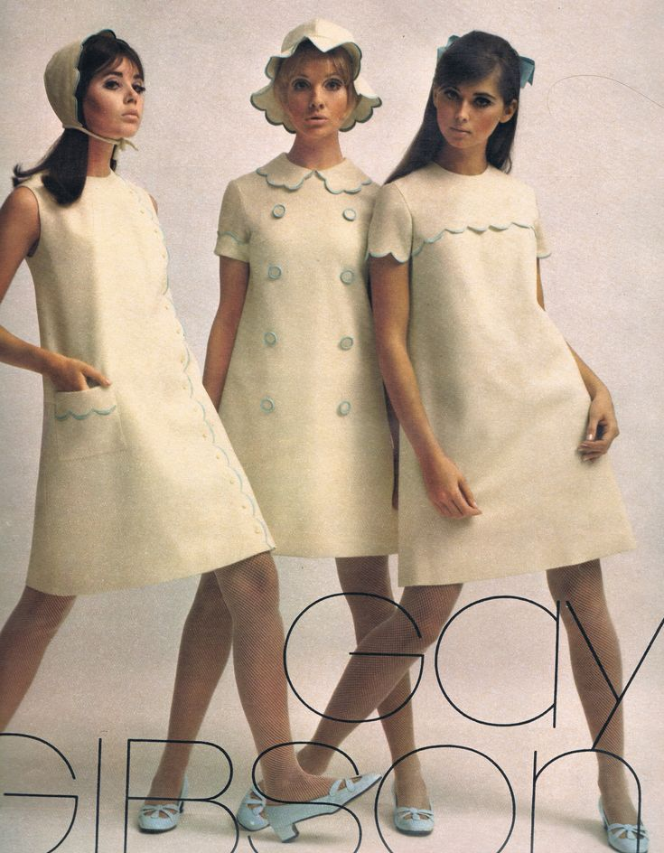 Colleen Corby, Cay Sanderson and Regine Jaffrey. Seventeen Sept 1967.