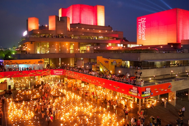 national theatre pyrotechnics, London