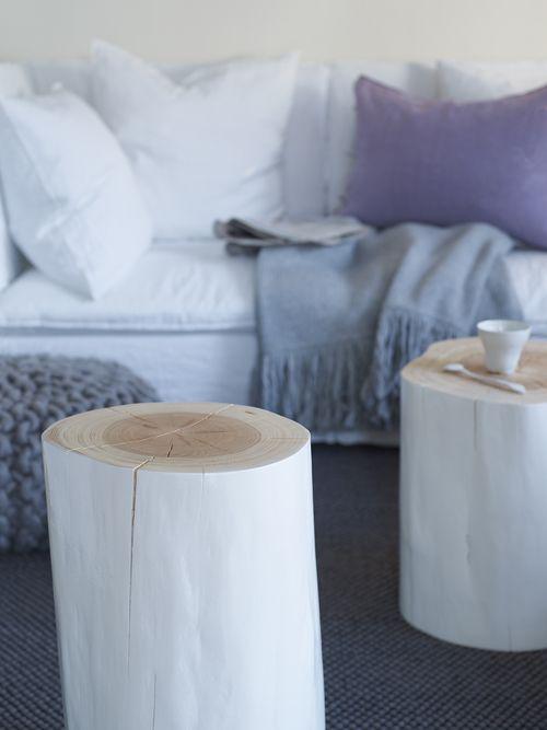 arredare casa con il legno ceppo