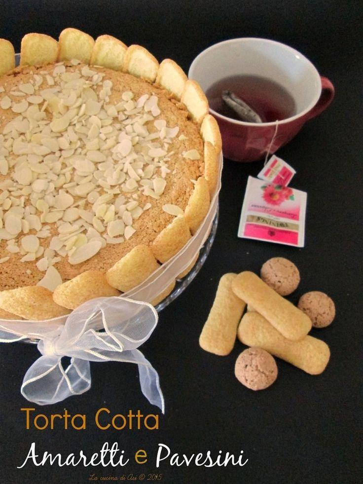 torta cotta amaretti pavesini La CUCINA DI ASI 2015 annalisa altini