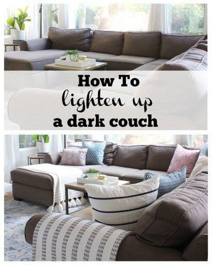 90 Color Scheme For The Living Room With A Elegant Dark Brown Sofa 53 Brown Leather Couch Living Room Dark Couch Living Room Leather Couches Living Room