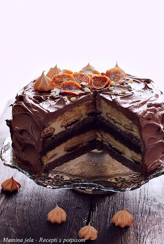 Mamina jela: Jaffa torta