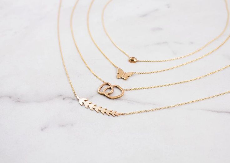 Gifts that give back.   Our Good Works necklaces are also available in 10K Yellow Gold