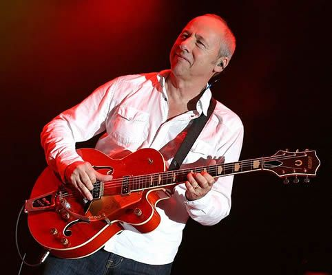Mark Knopfler Playing A Gretsch Guitar Gretsch Players