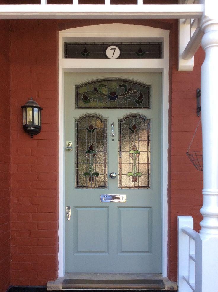 Beautiful edwardian front door in London
