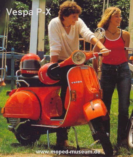 Vespa PX italia style
