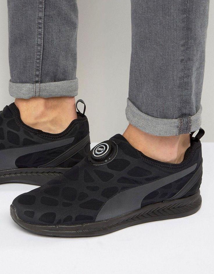 Puma Disc Ignite Sneakers - Black