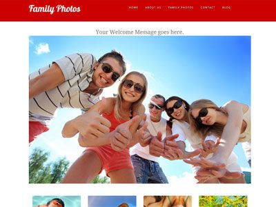 22 best talkspot website templates images on pinterest website a website template designed to showcase your family photos share your photos with all your pronofoot35fo Image collections