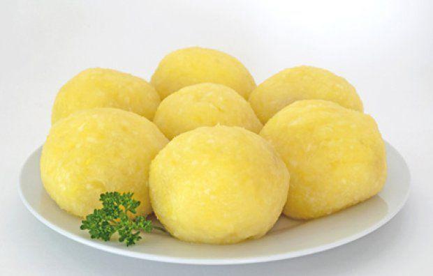 Kartoffelknödel 600 g Kartoffeln 80 g Kartoffelstärkemehl