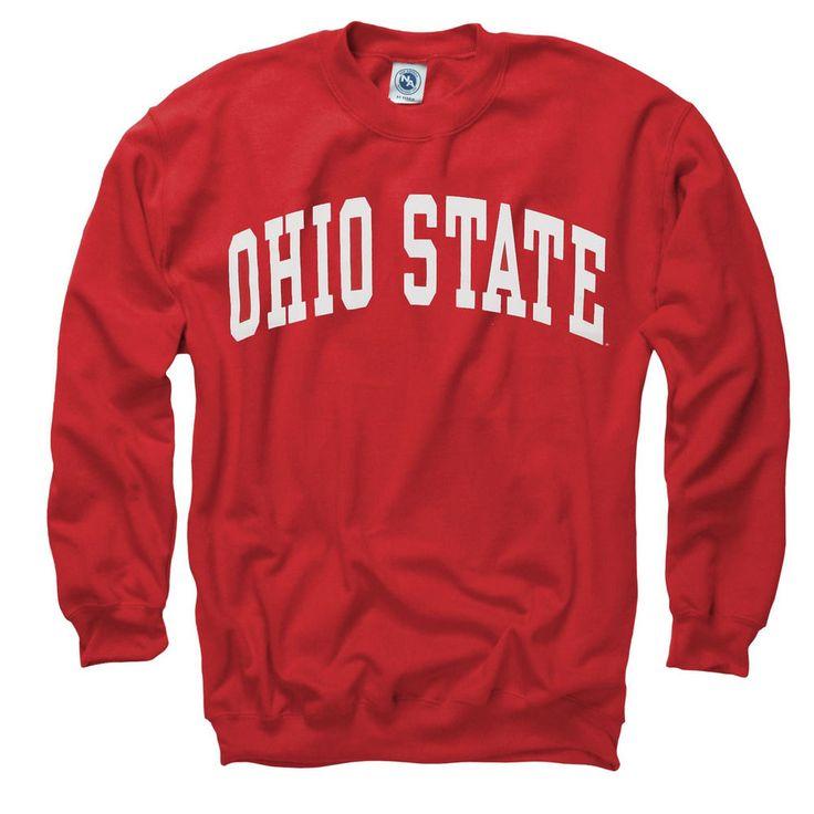 Ohio State Buckeyes Arch Crewneck Sweatshirt - Scarlet