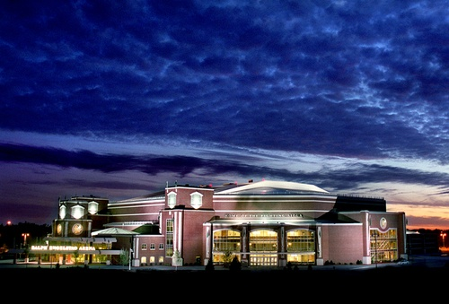 Ralph Engelstad Arena Grand Forks, ND.      Home of the Fighting Sioux Hockey Team.     Always the Fighting Sioux in our hearts forever