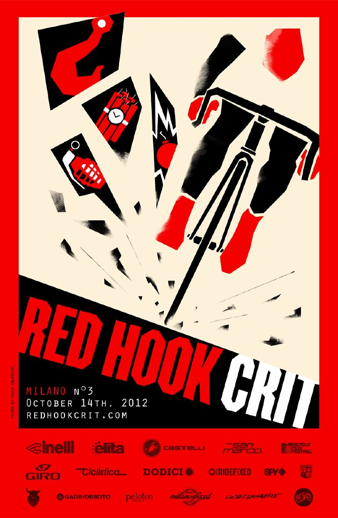 Red Hook Crit Race Poster