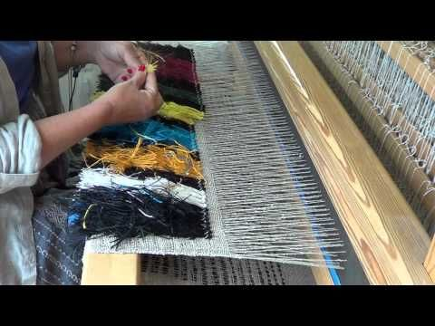How to Weave a Rya Rug on a Loom