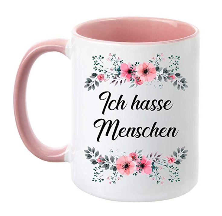 Ich hasse Menschen :D | Kaffeebecher, Lustige geschenke ...