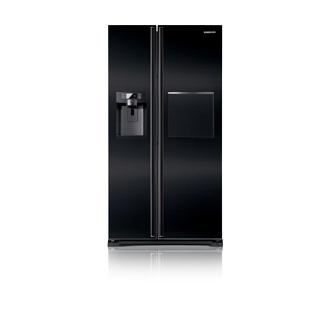 Samsung side-by-side musta jääkaappi