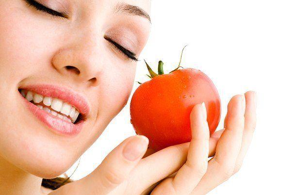 Маска помидорная