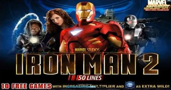 #Ironman 2 #Slots Machine