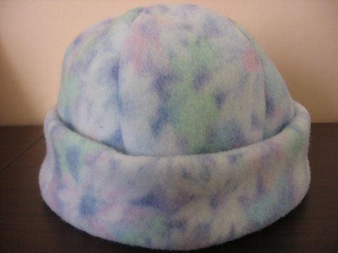 Fleece Hat Patterns for Women | chil's polar fleece hat – Sewing Projects | BurdaStyle.com