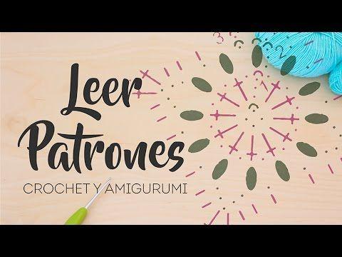 Cómo leer patrones de Amigurumi y Crochet - Gráficos, abreviaturas y japoneses - YouTube