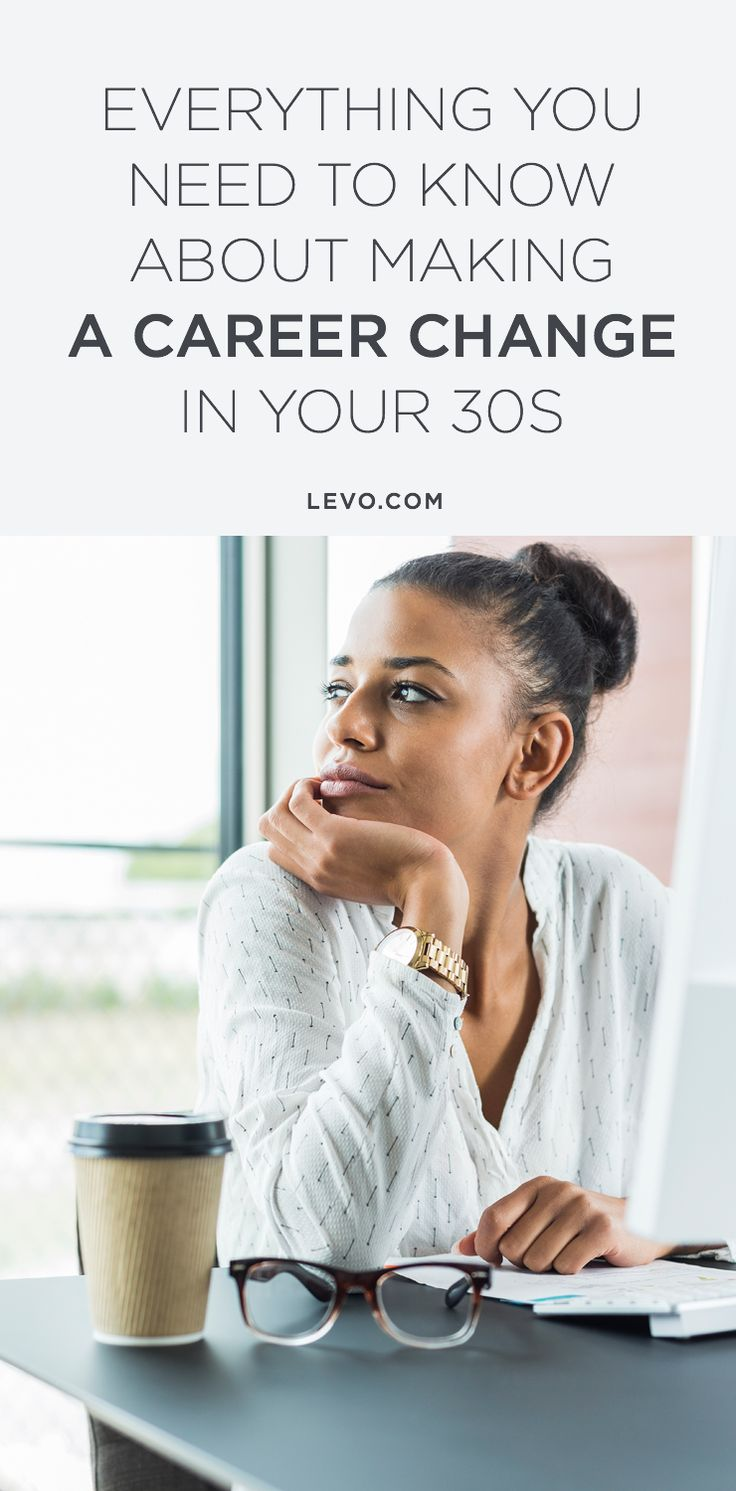 Seventy-three percent of you say you're in need of a pivot... This is everything you need to know about making a career change in your 30s. @levoleague www.levo.com