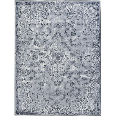 "Artistic Weavers Saturn Austin Gray Area Rug Rug Size: Runner 2'3"" x 7'3"""