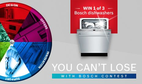 I just entered the Get More Bosch In Your Life Contest!