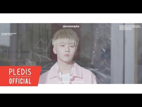 2017 SEVENTEEN Project Chapter1. Alone Trailer #SEUNGKWAN(승관) - YouTube