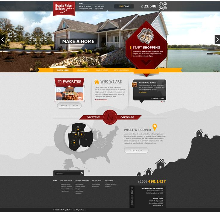 14 best Footer images on Pinterest | Website designs, Design web and ...
