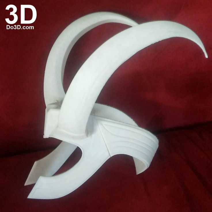 3D Printable Model: Loki New Helmet Crown (Thor Ragnarok Version) | Print File Format: STL – Do3D.com