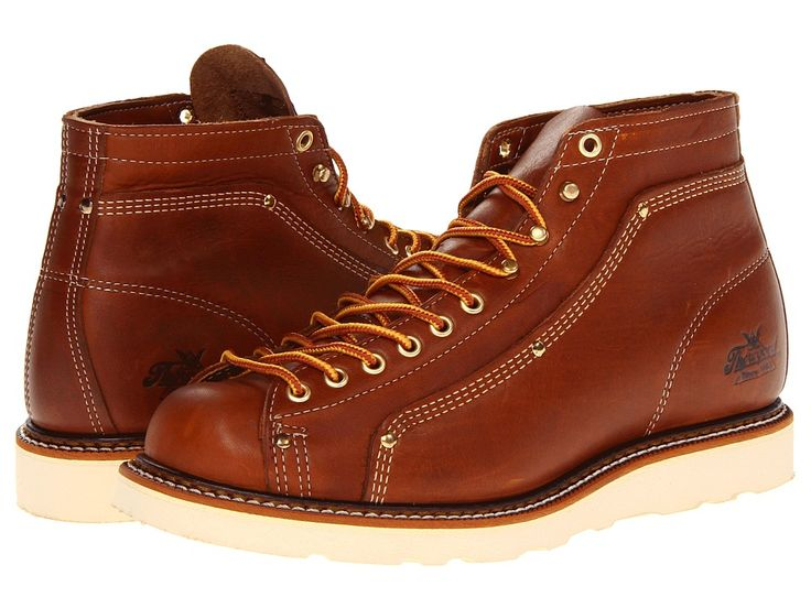 Thorogood Lace To Toe Roofer (Tobacco) Men's Work Boots