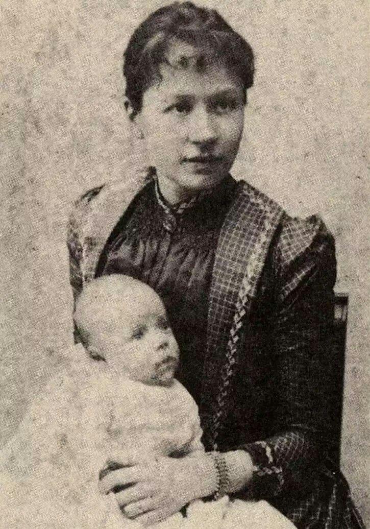 Johanna Bonger esposa de Theo Van Gogh con el hijo de ambos | Vincent | Pinterest | Van gogh ...