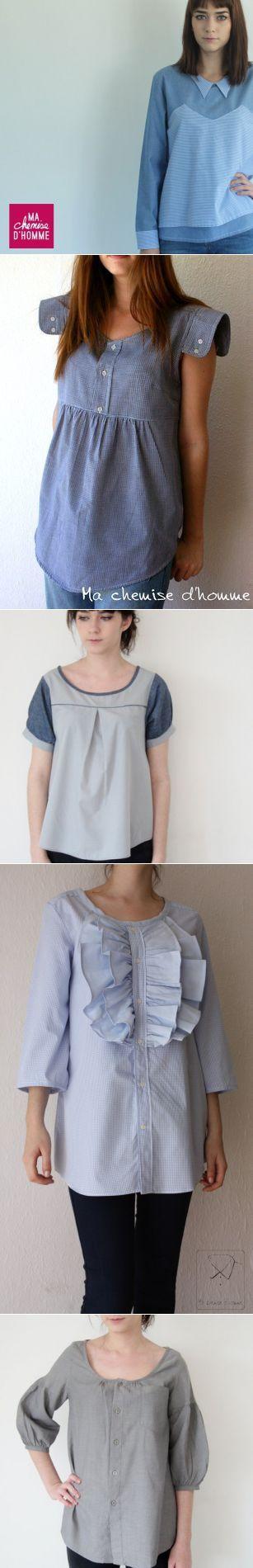Переделка рубашек (большой трафик) / Рубашки /