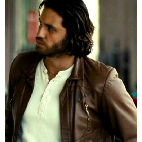 Domino Édgar Ramírez Choco Geniune Leather Jacket Domino: Choco (Édgar Ramírez) Leather Jacket is inspired from the famous movie Domino, a movie that revolves around the life journey of Domino Harvey. The main role was played by Edger Ramirez and was witnessed wearing a trendy yet functional