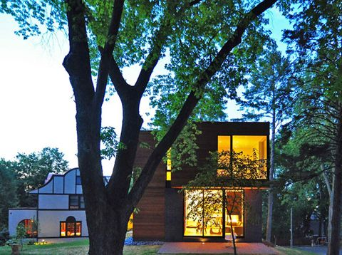 Milwaukee Based Studio Johnsen Schmaling Architects, Completed The Nexus  House In This Square Foot Modern Family Home Is Located In Madison,
