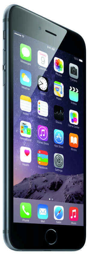 The iPhone 6 Plus - image copyright Apple Inc.