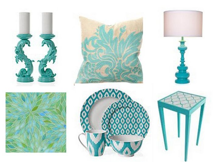 turquoise home decor accessories ideas homedecorin - Turquoise Home Decor Accessories