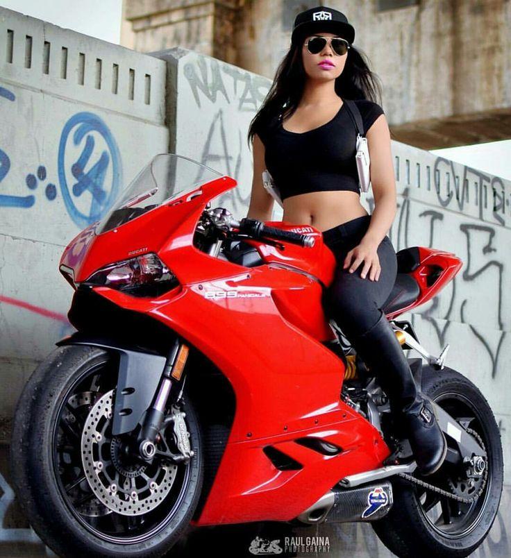 Ducati 899 Panigale @ms_keerati | motorbike girl3 | Ducati ...