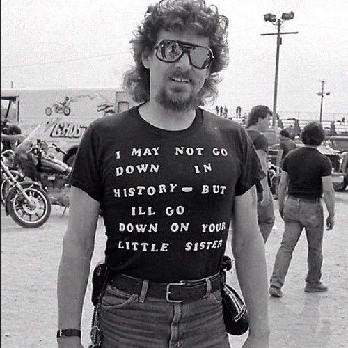 70's vintage biker t shirt | Biker Babes | Pinterest | Vintage, T ...