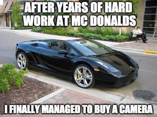 Years of hard work at mcdonalds - meme - http://jokideo.com/years-of-hard-work-at-mcdonalds-meme/