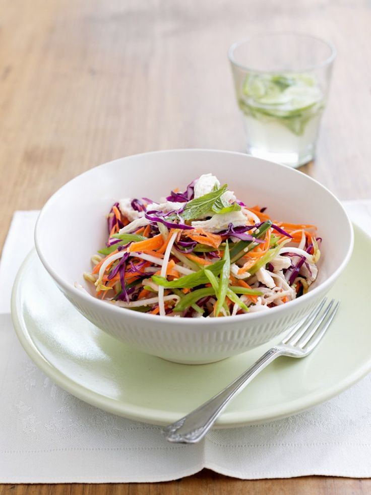 This delicious lunch or summer dinner dish is full of vegies to help you on your way to five a day.