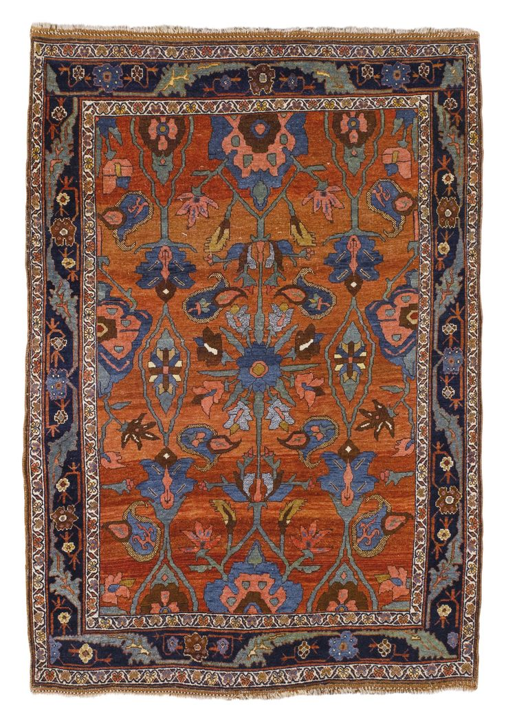 A Bidjar rug, Northwest Persia approximately 195 by 135cm., 6ft. 5in., 4ft. 5in. circa 1900