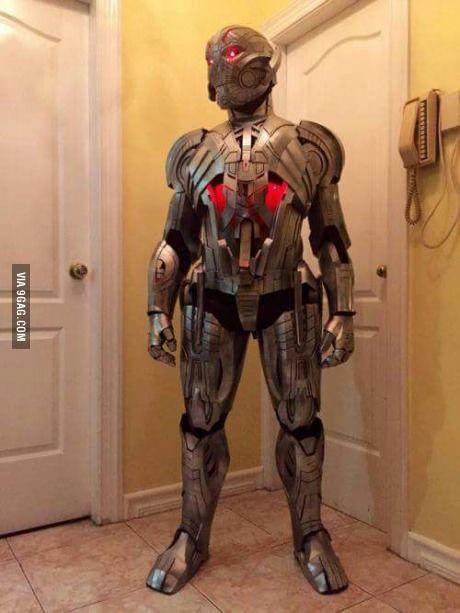 My Ultron cosplay, you like?