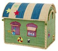Rice Förvaringshus Liten Cirkus #jollyroom #förvaring #barnrum #barnrumsinspo #förvaringsinspo