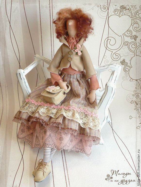 Купить Кукла в стиле Бохо: Жаклин - тильда, кукла Тильда, тильды, куклы тильды