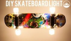 How to make a Skateboard Light – DIY Skate