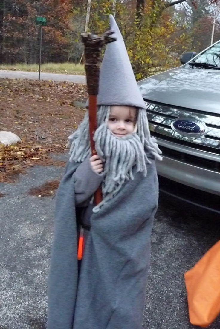 Gandalf costume - Gandalf's Staff... A Picture Tutorial