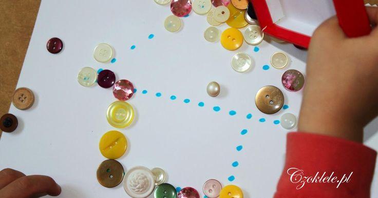 Inspirację na zabawy dla najmłodszych dzieci. Pomysły na kreatywne aktywności dla 2 i 3 letnich dzieci.